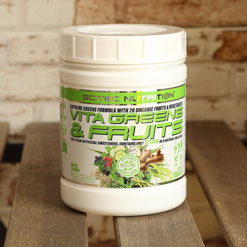 Vita Greens & Fruits de Scitec Nutrition