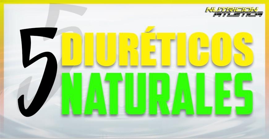 5 DIURÉTICOS NATURALES
