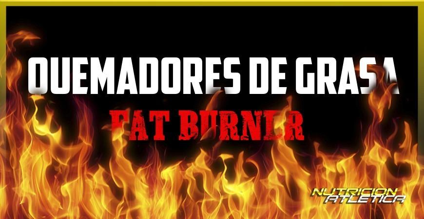 Los quemadores de grasa o fat burner